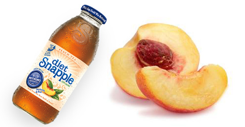 In ten years will you remember the perfect diet peach-flavored Snapple or the perfect peach?
